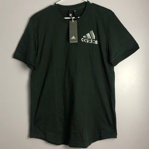 Green Jersey Back Tee